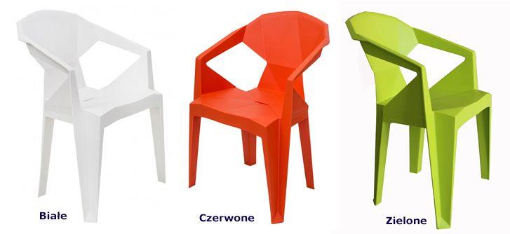 Modne krzesła Jaksen - wygodne