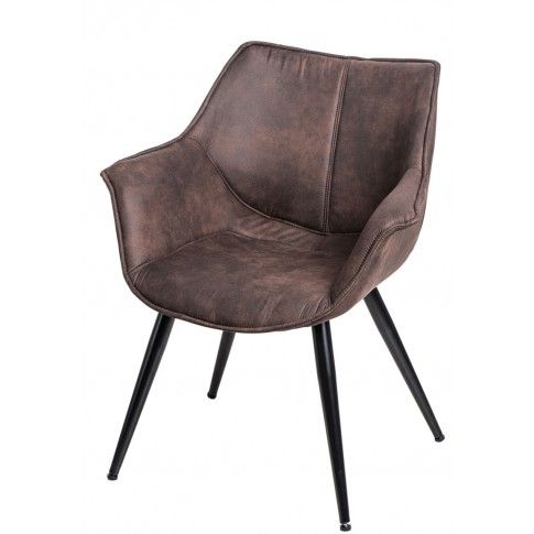 Zdjęcie produktu Fotel Migusto - brązowy.