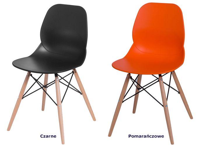 Modne krzesła Effi - skandynawskie
