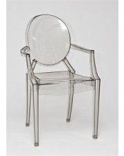 Krzesło Dizzy - transparentne w sklepie Edinos.pl