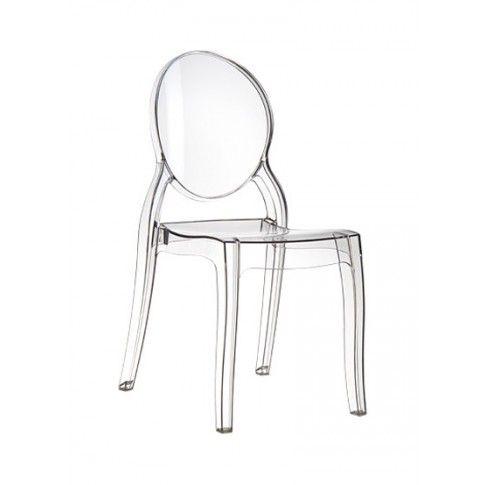 Zdjęcie produktu Krzesło Lauren - transparentne.