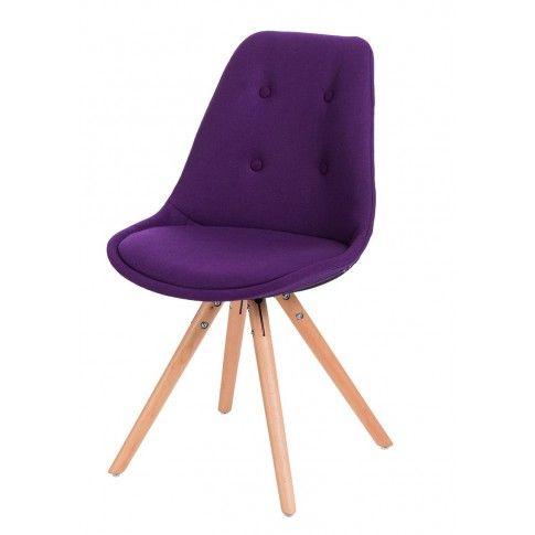 Zdjęcie produktu Krzesło Merio - fioletowe.