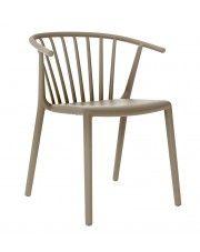 Krzesło Peppe - piaskowe w sklepie Edinos.pl