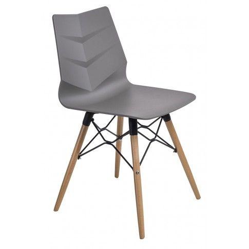 Zdjęcie produktu Krzesło Tekto - szare.