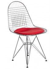 Krzesło Hagio - srebrne w sklepie Edinos.pl