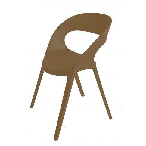 Zdjęcie produktu Krzesło Arte - brązowe.