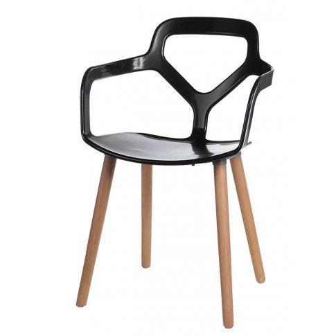 Zdjęcie produktu Krzesło Poppo - czarne.