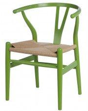 Krzesło Topeo - zielone w sklepie Edinos.pl