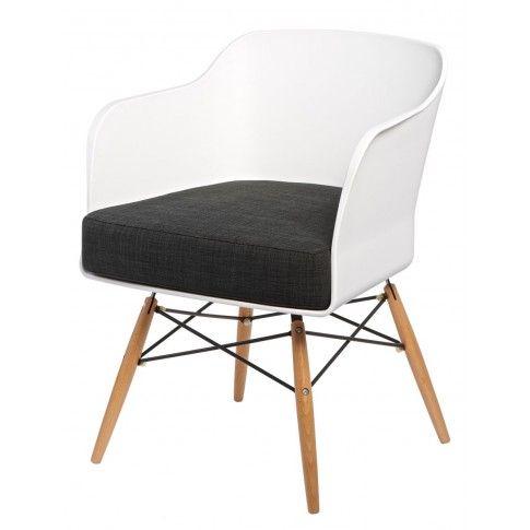 Zdjęcie produktu Krzesło kubełkowe Simmi - białe.