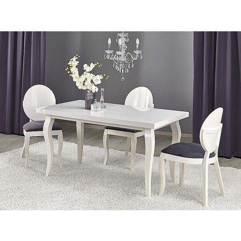 Zdjęcie produktu Rozkładany stół Torres 140-180 cm - biały.