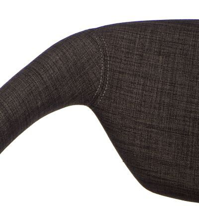Modernistyczne krzesło Dakoto 2X - brązowe
