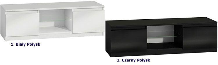 Lakierowana szafka pod telewizor, sprzęt RTV Verta 4X