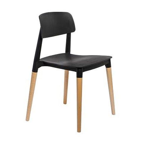 Zdjęcie produktu Krzesło Lores - czarne.