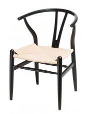 Krzesło Topeo 2X - czarne w sklepie Edinos.pl