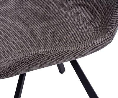 Innowacyjne krzesło Safiano - grafitowe