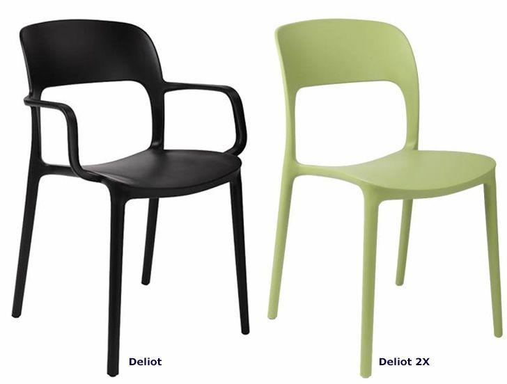 Wygodne krzesło Deliot - modne