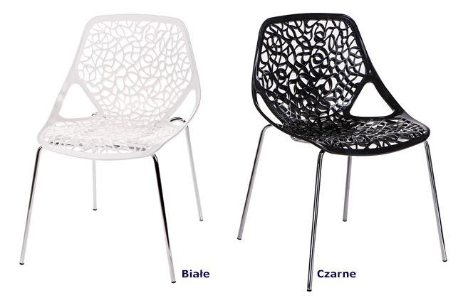 Nowoczesne krzesła Lenka - wygodne