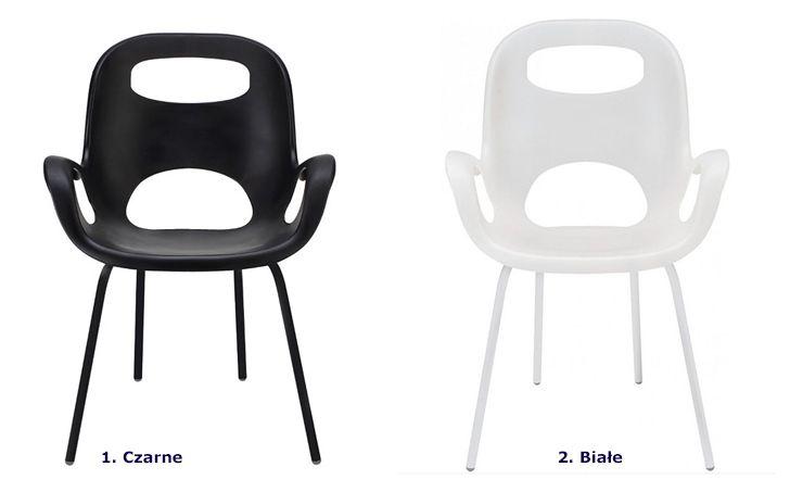 Minimalistyczne krzesło Giano - modne