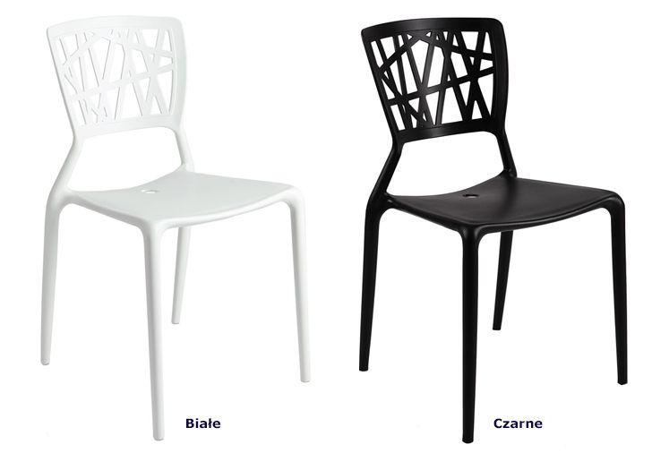 Modne krzesła Timmi - lekkie