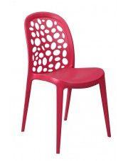 Krzesło Elia - czerwone