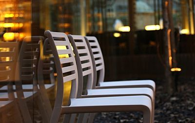 Modne krzesło Palio - białe