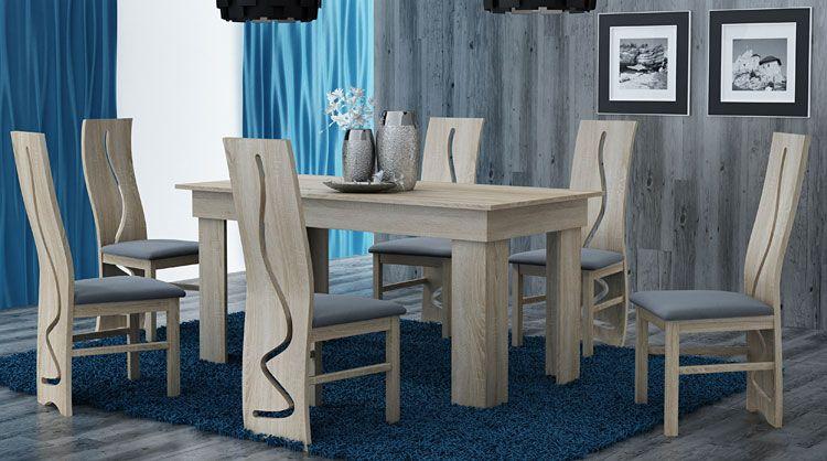 Stół do jadalni, salonu dąb sonoma Destar