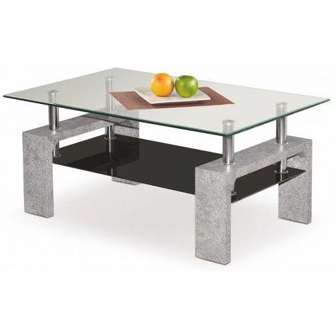 Zdjęcie produktu Ława szklana Hadia - beton.