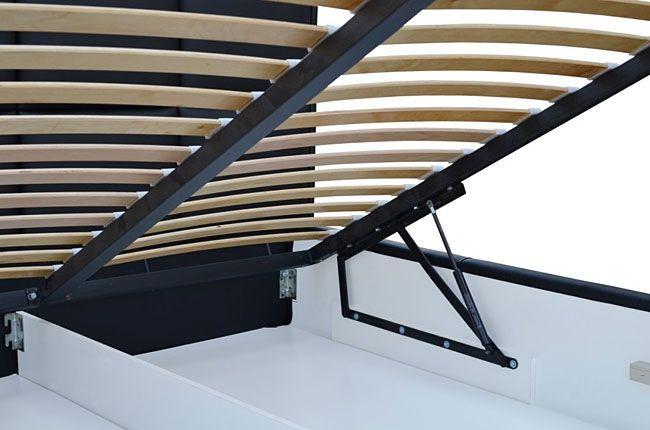 Dwuosobowe łóżko tapicerowane 44 kolory Tibis 2X