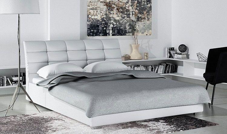 Podwójne łóżko z podnoszonym stelażem 160x200 Tiris