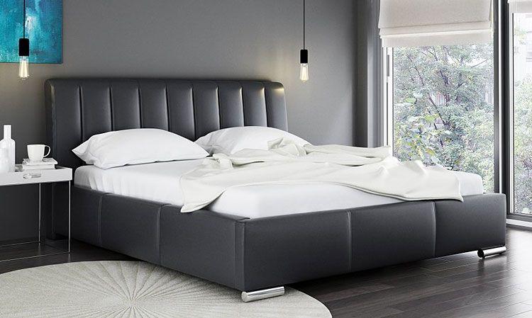 Dwuosobowe łóżko z pojemnikiem na pościel Venon 2X
