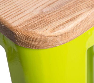 Designerski hoker Kimmi 3X - zielony