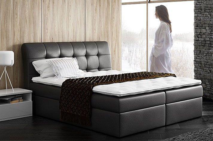 Małżeńskie łóżko typu boxing 160x200 Nadar