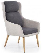 Fotel wypoczynkowy Kossan - popielaty