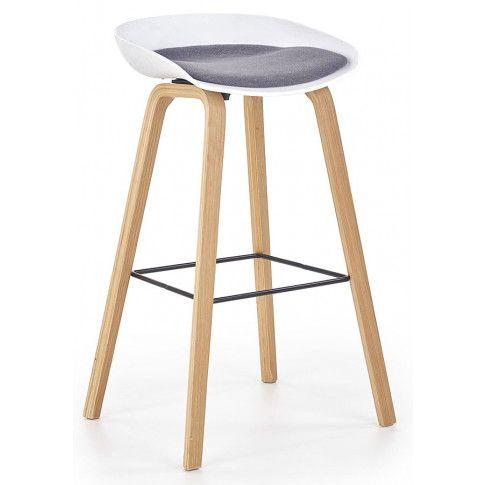 Zdjęcie produktu Hoker drewniany Litor - biały + popiel.