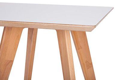 Stylowy stolik kawowy Tizen - biały
