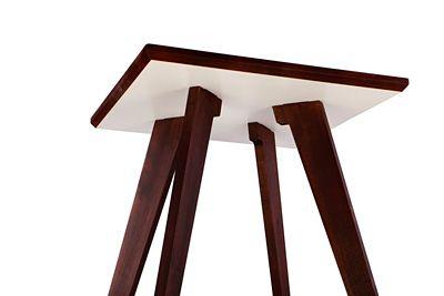 Praktyczny stolik kawowy Tizen - orzech