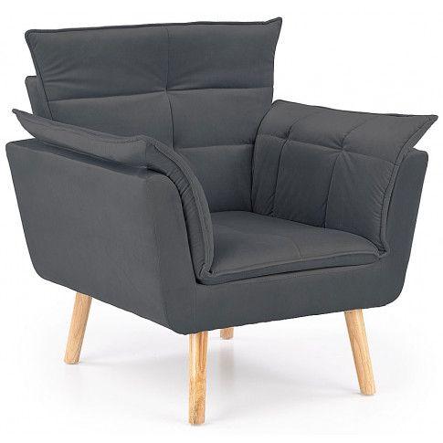Zdjęcie produktu Fotel wypoczynkowy do salonu Raven - popielaty.