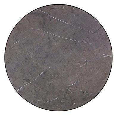 Okrąły stolik kawowy Costro 2X - czarny