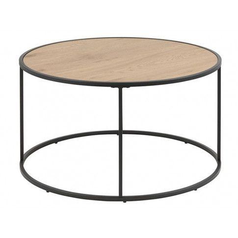 Zdjęcie produktu Kawowy stolik loft - Arron 2X - czarny.