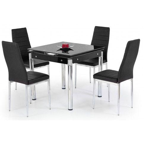 Zdjęcie produktu Kwadratowy stół Cuber - czarny.