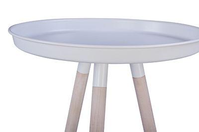 Skandynawski stolik Wiwo - okrągły
