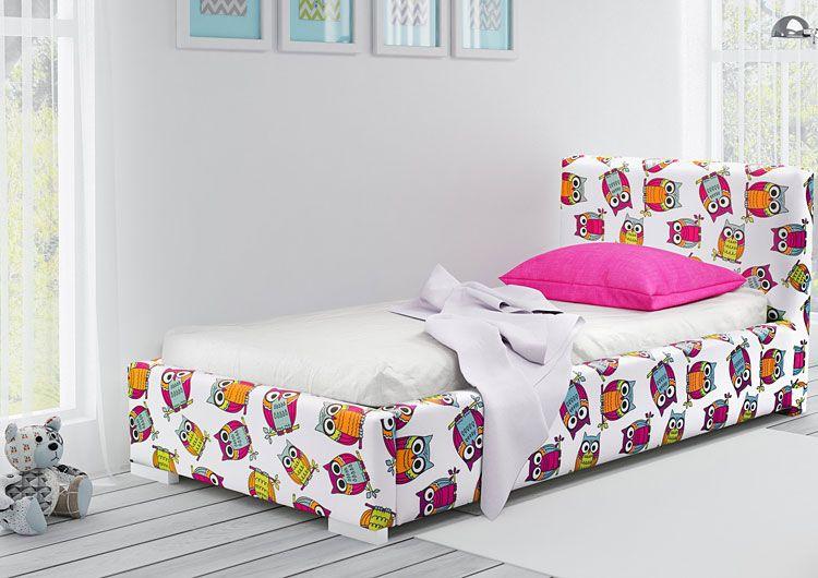 Kolorowe łóżko dziecięce 90x200 Dinks