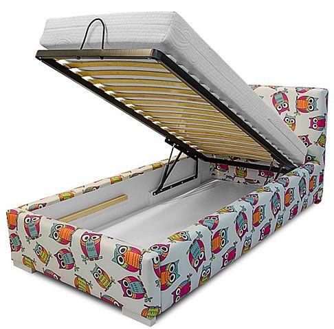 Dziecięce łóżko z pojemnikiem na pościel 90x200 Dinks