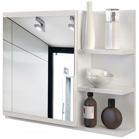 Zdjęcie produktu Lustro łazienkowe Lexi 2X - białe.