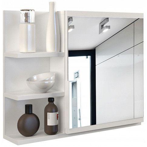 Zdjęcie produktu Lustro do łazienki Lexi 3X - białe.