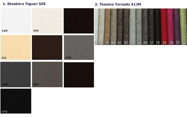Kolory tapicerki łóżka Varris 90x200