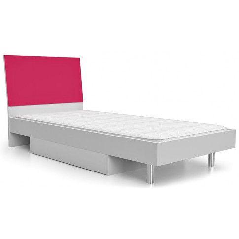 Zdjęcie produktu Łóżko dla dziewczynki Kormi 90x200 - różowe.