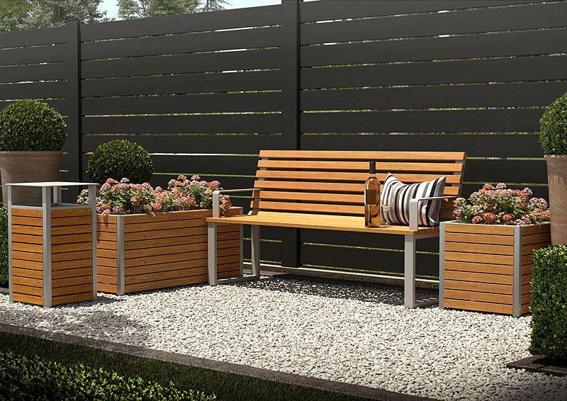 zestaw mebli drewnianych Zeris do ogrodu