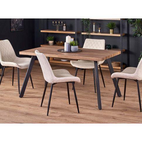 Zdjęcie produktu Rozkładany stół Marceo - orzech miodowy.