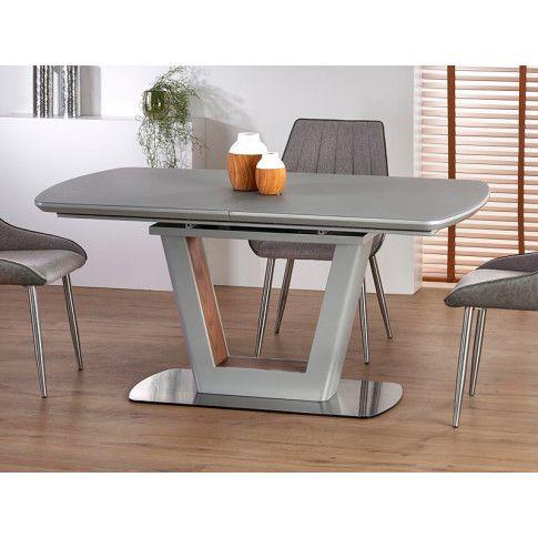Zdjęcie produktu Rozkładany stół Tanum - jasny popiel.
